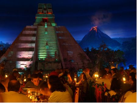 Epcot's San Angel Inn Restaurant