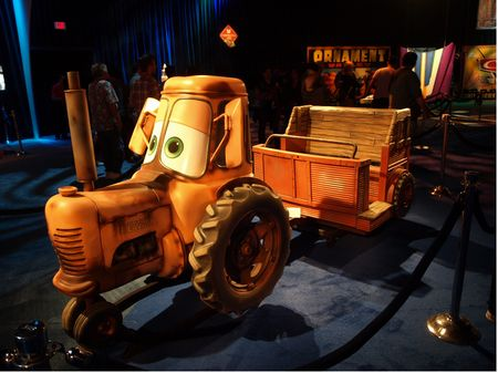 Mater's Junkyard Jamboree ride vehicle