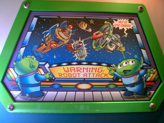 Photo of Buzz Lightyear Astro Blasters