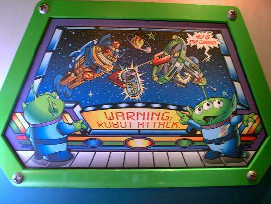 Photo of Buzz Lightyear Astro Blasters