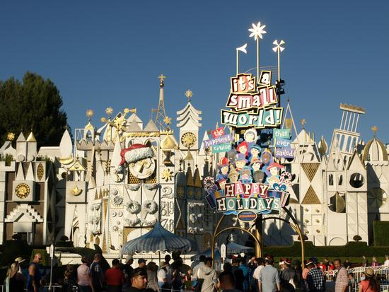 Disneyland's It's a Small World Holiday