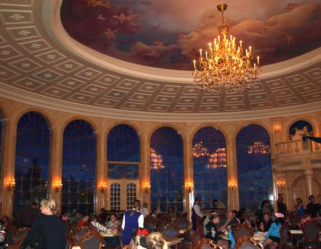 Be Our Guest grand ballroom dining area