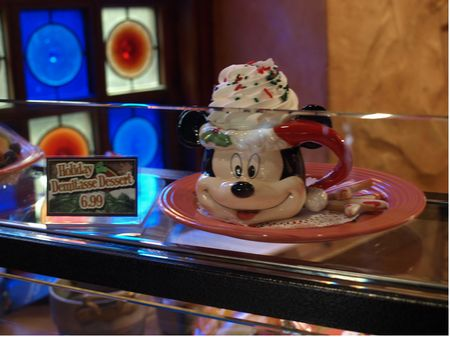 Disneyland's Holiday Demitasse Dessert