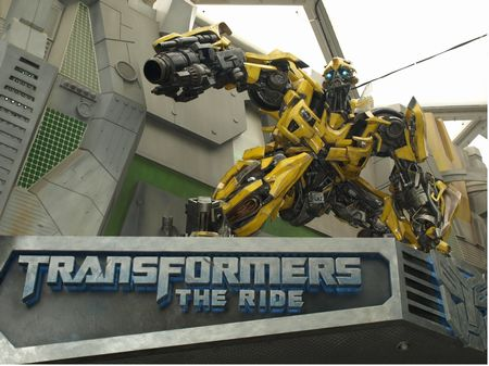 Transformers: The Ride entrance