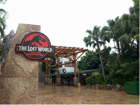 A Tour Of Universal Studios Singapore The Lost World