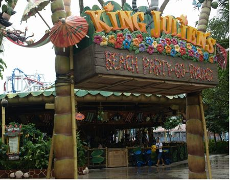 King Julien's Beach Party-Go-Round photo, from ThemeParkInsider.com