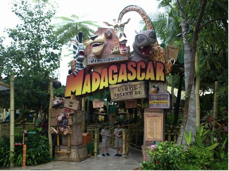 Madagascar: A Crate Adventure