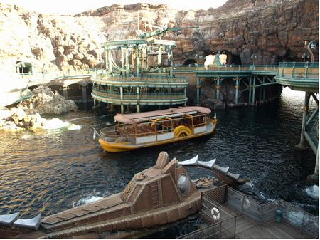 Outside 20,000 Leagues Under the Sea