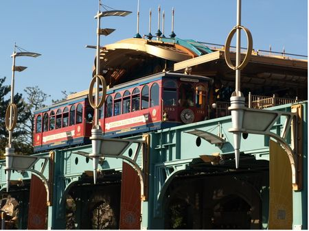 The Port Discovery station on the DisneySea Electric Railway