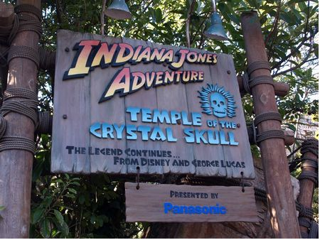 Indiana Jones - Temple of the Crystal Skull