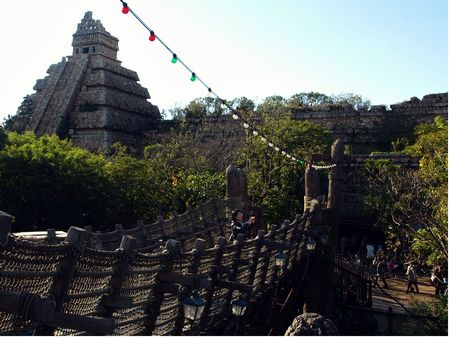 Another view of The Temple of the Crystal Skull