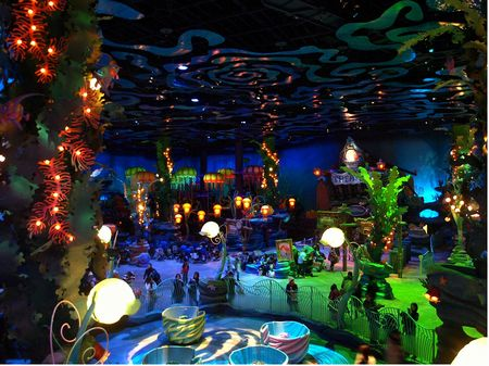 Inside Triton's Kingdom at Mermaid Lagoon.