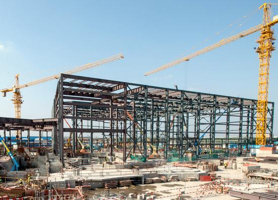 Shanghai Pirates construction photo