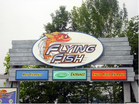Flying Fish photo, from ThemeParkInsider.com