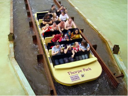 Tidal Wave At Thorpe Park