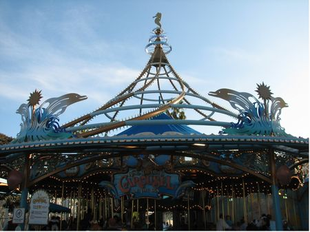 King Triton's Carousel photo, from ThemeParkInsider.com