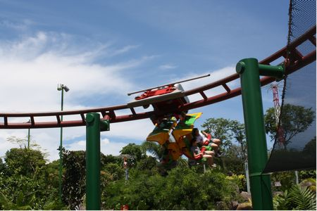 Canopy Flyer photo, from ThemeParkInsider.com