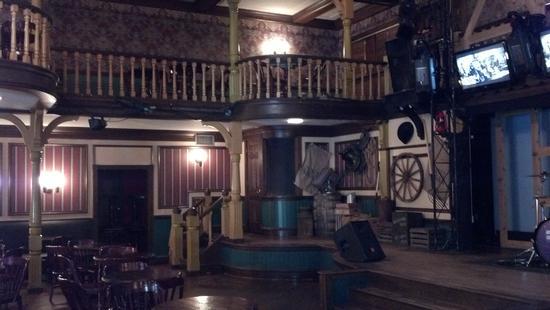photo of interior of Red Garter Saloon