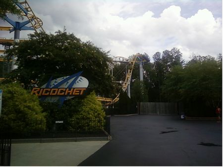 Ricochet photo, from ThemeParkInsider.com