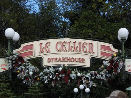 Le Cellier Steakhouse photo, from ThemeParkInsider.com