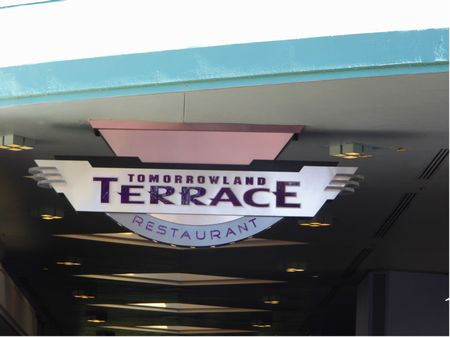 Tomorrowland Terrace photo, from ThemeParkInsider.com