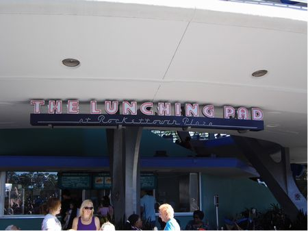 The Lunching Pad at Rockettower Plaza photo, from ThemeParkInsider.com