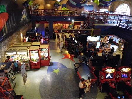 Pizza Planet Arcade photo, from ThemeParkInsider.com