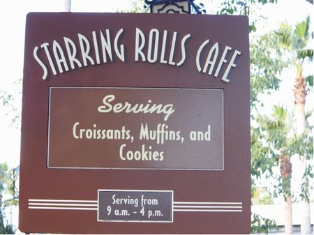 Starring Rolls Cafe photo, from ThemeParkInsider.com