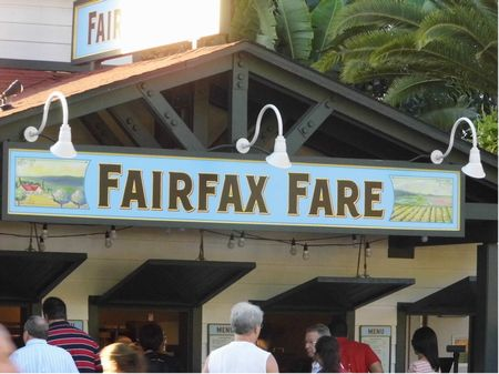 Fairfax Fare photo, from ThemeParkInsider.com