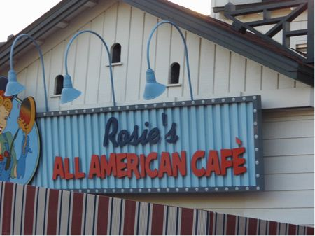 Rosie's All American Cafe photo, from ThemeParkInsider.com
