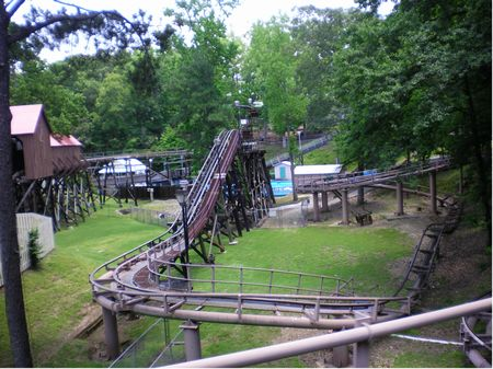 Dahlonega Mine Train photo, from ThemeParkInsider.com