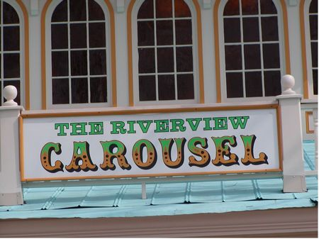 The Riverview Carousel photo, from ThemeParkInsider.com