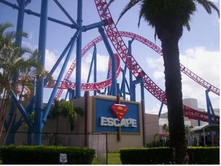 Superman Escape photo, from ThemeParkInsider.com