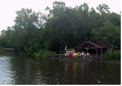 Walt Disney World Magic Kingdom's Tom Sawyer's Island