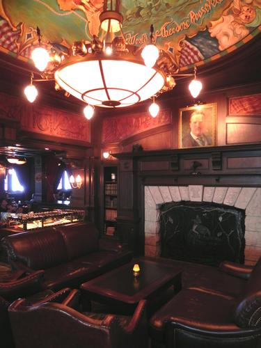 The Teddy Roosevelt Lounge photo, from ThemeParkInsider.com
