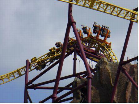 Volcano: The Blast Coaster