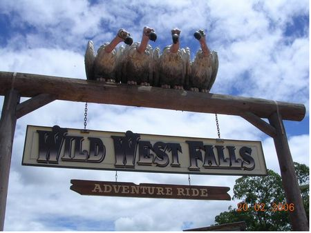 Wild West Falls photo, from ThemeParkInsider.com