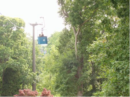 Skyride At Busch Gardens Williamsburg