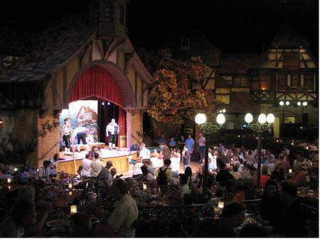 Biergarten Restaurant at Epcot