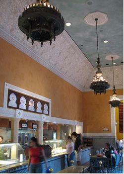 Tangierine Cafe photo, from ThemeParkInsider.com