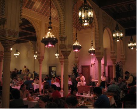 Epcot Restaurant Marrakesh
