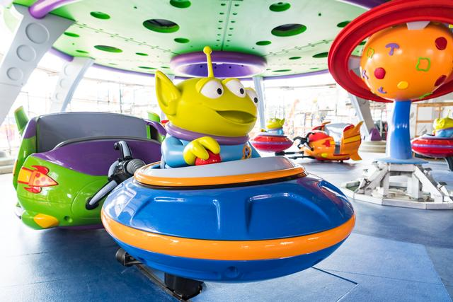 Photo of Alien Swirling Saucers
