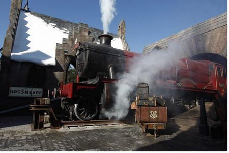 Hogwarts Express at Universal's Islands of Adventure