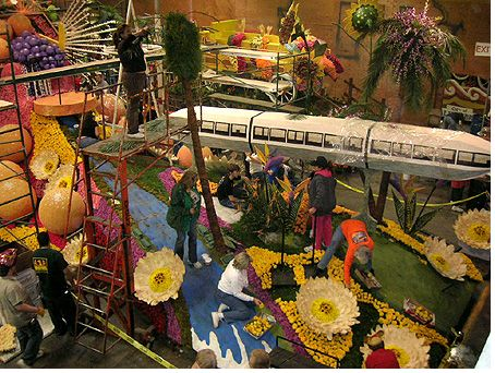 City of Anaheim float for the 2007 Rose Parade