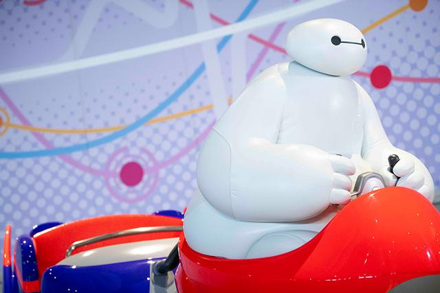 The Happy Ride with Baymax