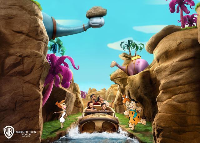 Photo of The Flintstones Bedrock River Adventure