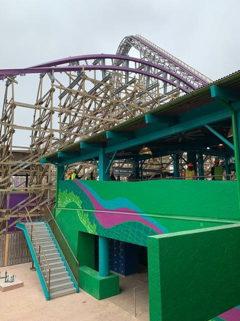 Iron Gwazi station