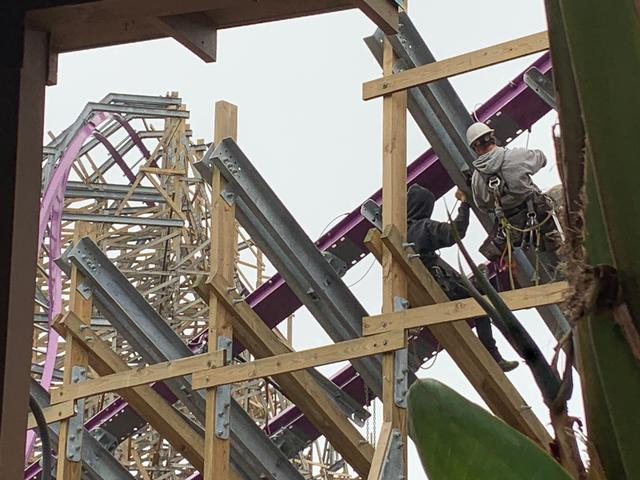 Iron Gwazi construction