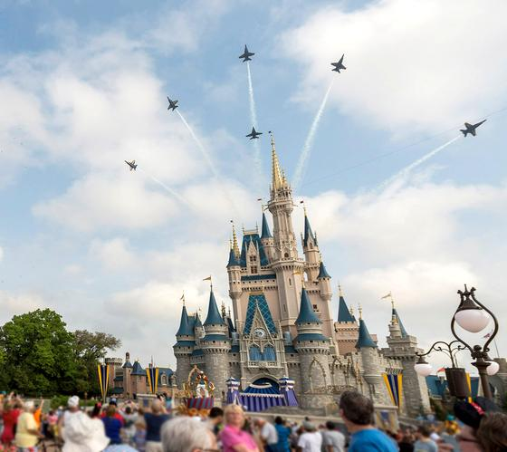 Blue Angels at Disney
