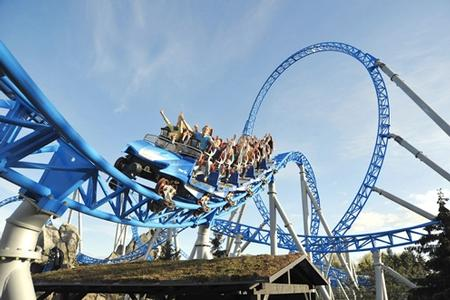 Blue Fire photo, from ThemeParkInsider.com